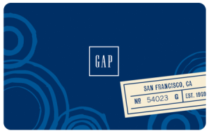 Gap Card Registration