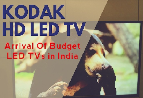 Buy Online Kodak Smart LED TVs with Features of Wi-Fi, ARM cortex A7 Processor and Android