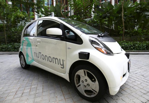 World's First Self-Driving Taxis