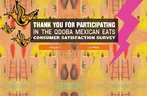 Qdoba Mexican Grill Survey Online