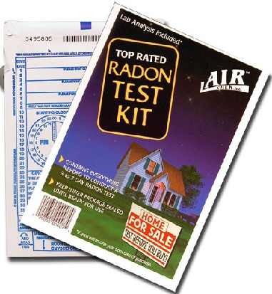 Buy Radon Test Kit from Walmart, Lowes or Home Depot: Radon Prevention Tips