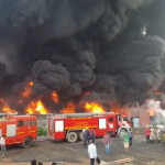 Fire at Yarn Manufacturing Factory at Hariyal, Mandavi near Surat – Photos