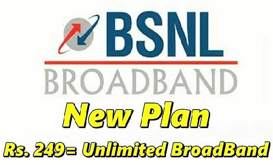 BSNL New BB 249 Plan Change Online for 300GB Data