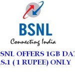 How to Get BSNL 1 GB Data at Just Rs. 1 In New Offer Plan?