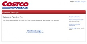 Costco Employee Payroll Login
