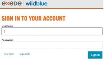 My Exede Account Management Dashboard