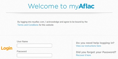 my.aflac.com Login/ Sign in/ Insurance Agent Commission