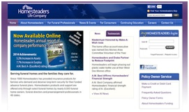 Homesteaders Life Company Ratings/ Reviews/ Pay Online/ Login