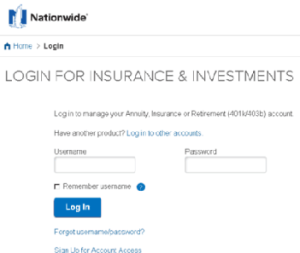 Nationwide.com Login