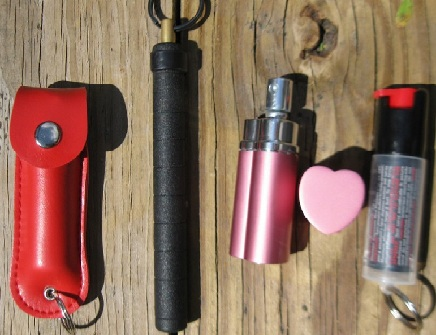 Sabre Red Pepper Spray with Key Ring/ Instructor Certification