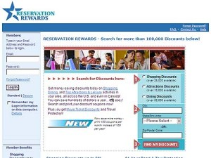 Sign Up Reservation Rewards