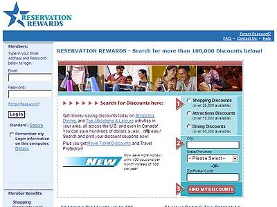 Reservation Rewards Cancel Membership
