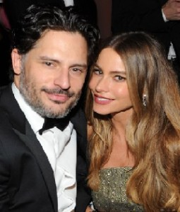 Sofia Vergara with Joe Manganiello