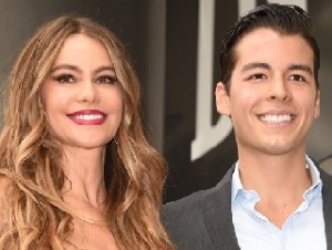 Sofia Vergara with Son