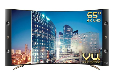 Vu Curved TV Price List India