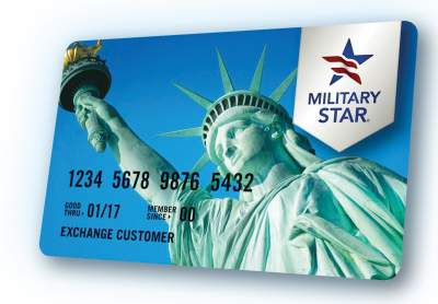Military credit card sign in