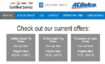 GM Rebates / My Certified Service Coupons