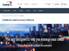 Capital One Credit Tracker Sign In / Login