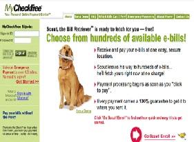 Checkfree Web Enrollment / Login