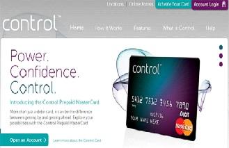 Control Prepaid MasterCard Activate