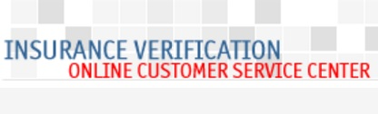 Insurance Verification Reference Number UK
