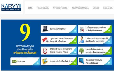 How to Open My Karvy e-Insurance Account
