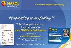 Maxol Consumer Feedback Survey