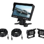 Rear View Camera System for Cars, Motorhome and Other Vehicle