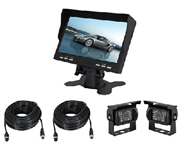 Rear View Safety Car Camera System Review / Mirror Reversing Camera Kit