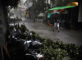 Typhoon Megi Video
