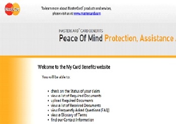 Mastercard Price Protection Claim @ www.mycardbenefits.com