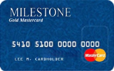 Milestone Login Credit Card