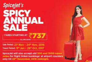 Spicejet Offers Today