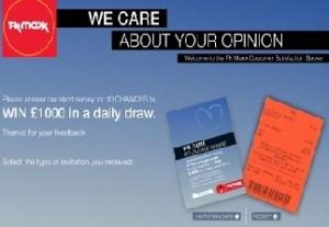 TK Maxx Empathica Customer Survey UK