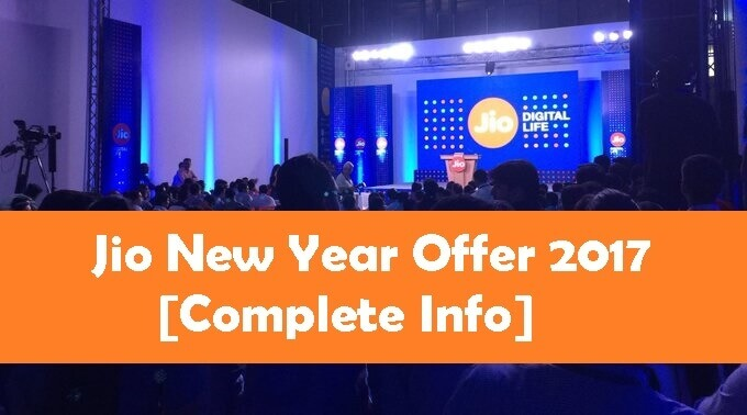 how to get jio happy new year offer code
