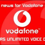 Vodafone Unlimited Calling Plan 2021 : Free Voice Call Plans Prepaid/Postpaid