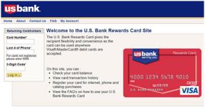 US Bank Rewards Card Login