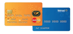 change walmart credit card to mastercard