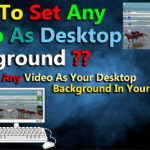 How to set a video as your desktop wallpaper with VLC media player?