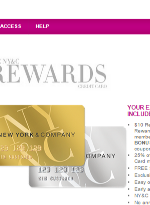 New York and Company (NY&C) Rewards Credit Card Application – Apply Online