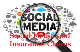 Social media and insurance claims