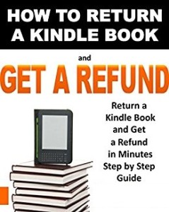 Kindle Book Return for Refund Policy