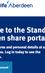 Standard Life Share Portal Account Login and Registration Service