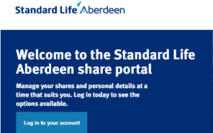 Standard Life Share Portal Account Login