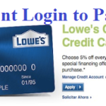 MyLowe's Credit Card Account Login – www.lowes.com Credit Pay Bill