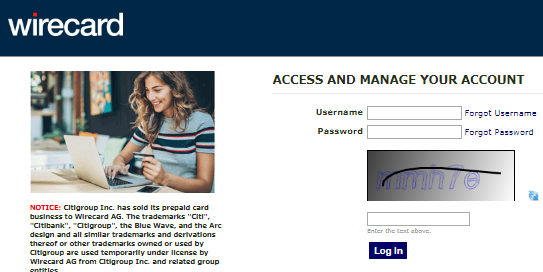 Citi Prepaid Card Account Login