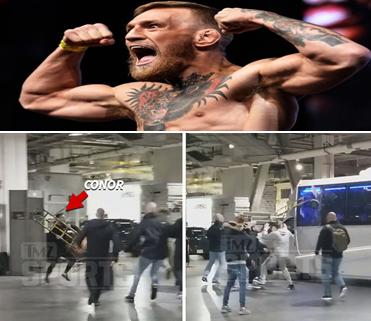 Conor Mcgregor bus attack video