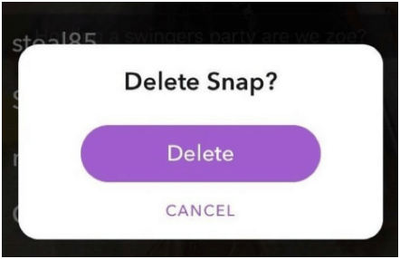 Delete a Shared Story on Snapchat