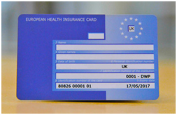Eligibility and Application Form for EHIC - European Health Insurance Card