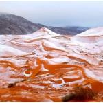 Sahara Desert Snowfall 2018 – Ain Sefra, Algeria Desert Online News